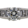 2.00 ct. Round Cut Solitaire Ring #3