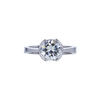 2.03 ct. Round Cut Solitaire Ring, I, VVS1 #3