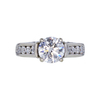 2.00 ct. Round Cut Ring, F, I1 #3