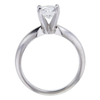 1.00 ct. Round Cut Solitaire Ring, F, SI1 #3