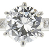 0.96 ct. Round Cut Solitaire Ring, I, VVS2 #4
