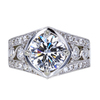 2.15 ct. Round Cut Solitaire Ring, D, VS2 #1