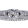 .90 ct. Round Cut Bridal Set Ring #3