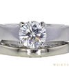 1.00 ct. Round Modified Brilliant Cut Bridal Set Ring, H, SI1 #3