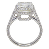 5.25 ct. Cushion Modified Cut Halo Ring, K, VS2 #4