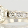 1.03 ct. Round Cut Bridal Set Ring #3