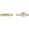 1.15 ct. Round Cut Bridal Set Ring, H-I, I2 #2
