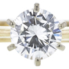 0.74 ct. Round Cut Solitaire Ring, H, VS2 #4