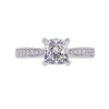 1.00 ct. Cushion Cut Solitaire Ring, I, SI2 #2
