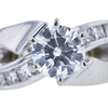 1.55 ct. Round Cut Solitaire Ring, F, SI1 #4