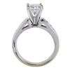1.37 ct. Princess Cut Ring, G-H, I1 #3