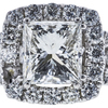 2.00 ct. Princess Cut Loose Diamond, H, VS2 #4
