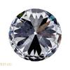 1.05 ct. Round Cut 3 Stone Ring, J, I1 #4