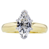 1.21 ct. Marquise Cut Solitaire Ring, G, I1 #3