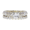 0.95 ct. Princess Cut Bridal Set Ring, I-J, SI1-SI2 #1