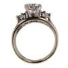 1.00 ct. Round Cut Bridal Set Ring #1