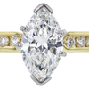1.08 ct. Marquise Cut Solitaire Ring, H, SI1 #4