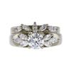 0.8 ct. Round Cut Bridal Set Ring, I, SI1 #3