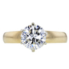 1.24 ct. Round Cut Solitaire Ring, H, VS2 #3