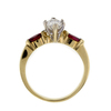 1.01 ct. Marquise Cut Solitaire Ring #1