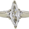 1.50 ct. Marquise Cut Bridal Set Ring #2