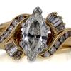 1.48 ct. Marquise Cut Bridal Set Ring #1