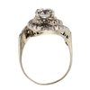 1.76 ct. Round Cut Central Cluster Ring #2