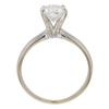1.04 ct. Round Cut Bridal Set Ring, G-H, I2 #3