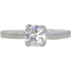 0.65 ct. Round Cut Solitaire Ring, F-G, VS2 #1