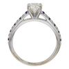 0.75 ct. Round Cut Bridal Set Ring, J, SI1 #4