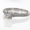 1.00 ct. Round Cut Solitaire Ring #2