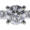 0.90 ct. Round Cut Bridal Set Ring, G, VS2 #4