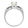 1.12 ct. Old European Cut Solitaire Ring, L, SI1 #4