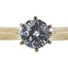 1.00 ct. Round Cut Solitaire Ring, J, SI2 #4