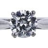 0.92 ct. Round Cut Bridal Set Ring, F, SI1 #4