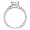 1.21 ct. Princess Cut Central Cluster Ring, F, VS2 #4
