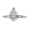 1.19 ct. Pear Cut Solitaire Ring, G, SI2 #3