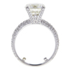2.7 ct. Round Cut Central Cluster Ring, K, I1 #3