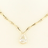 3.02 ct. Pear Cut Necklace #1