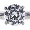 1.11 ct. Round Cut Bridal Set Ring, D, VVS2 #4