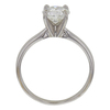 1.0 ct. Round Cut Bridal Set Ring, G, SI1 #4