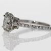 1.0 ct. Radiant Cut Bridal Set Ring #4