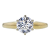 1.15 ct. Round Cut Solitaire Ring, H, VS1 #3