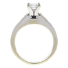 0.71 ct. Princess Cut Bridal Set Ring, F-G, VS1 #2