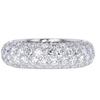 Round Cut Eternity Band Tiffany & Co. Ring, H-I, VVS2-VS1 #1