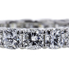 Cushion Cut Eternity Band Ring #2