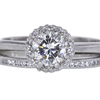 .89 ct. Round Cut Bridal Set Ring #1