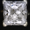 1.19 ct. Princess Cut Solitaire Ring #4