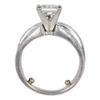 1.54 ct. Princess Cut Bridal Set Ring, F, VS1 #4