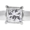 1.0 ct. Princess Cut Bridal Set Ring, F, SI1 #4